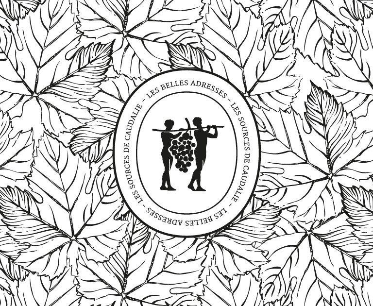 Agence le 6 Paris- Design Graphique-Identite visuelle-Caudalie-Logo Les belles Adresse