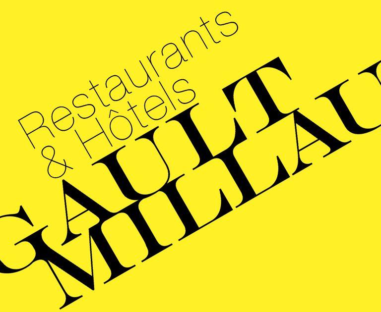 Gault Millau-Logotype-Charte graphique-Univers visuel-Agence le 6 Paris