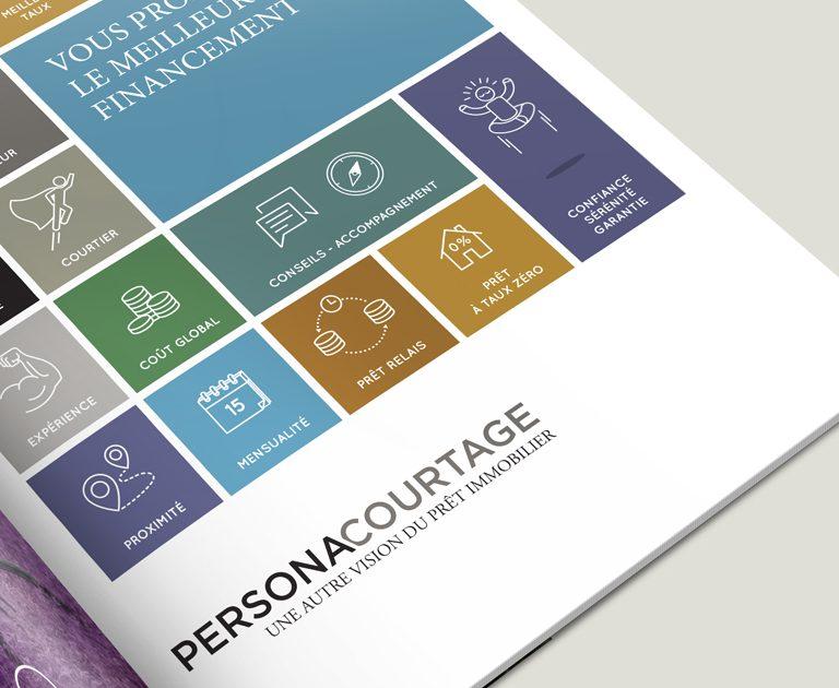 PERSONA COURTAGE-Identite-Charte graphique-Logotype-Publicite magazine