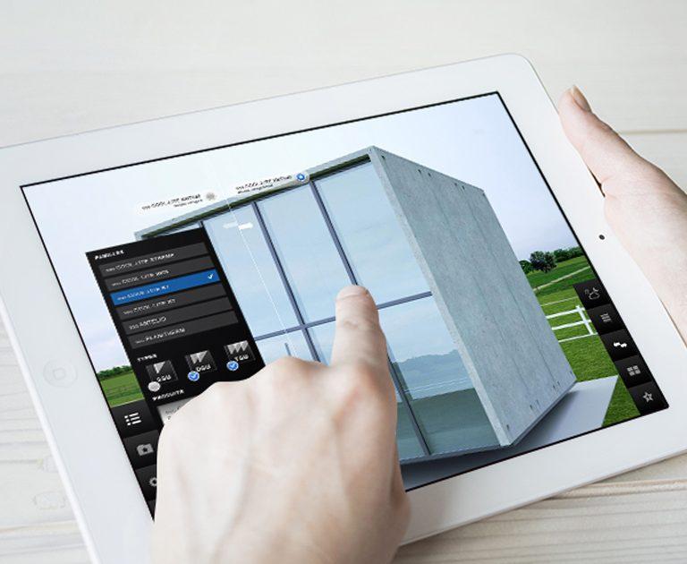 Glasspro_Appli_tactile_creation graphique interface agence le 6 paris-2
