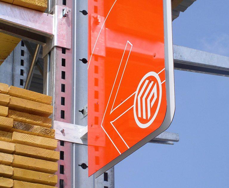 Point P Libre service-Logotype-Identite visuelle-Creation Agence le 6 Paris