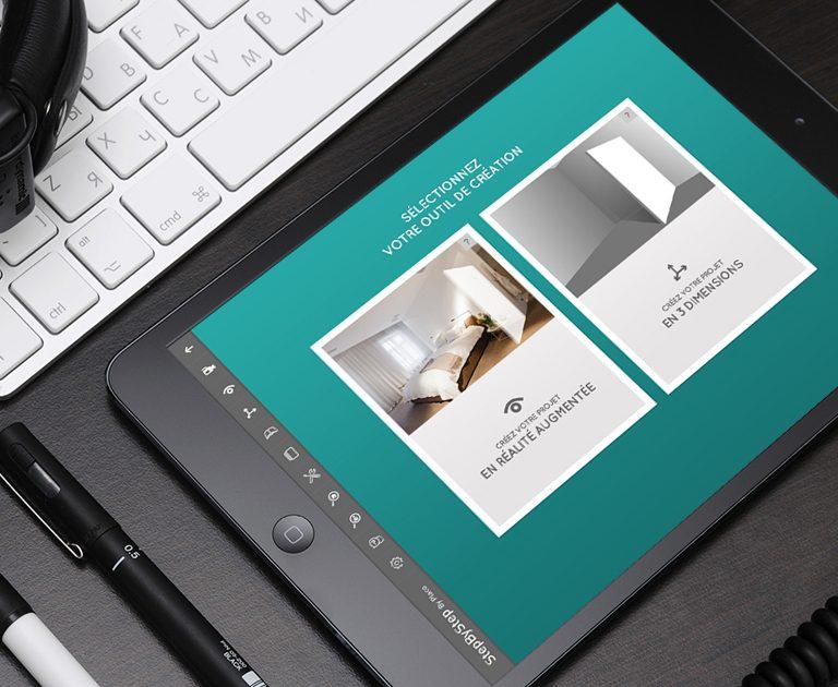 Appli_Realite augmentee_Pictos_Ipad_Placo_AgenceLe6