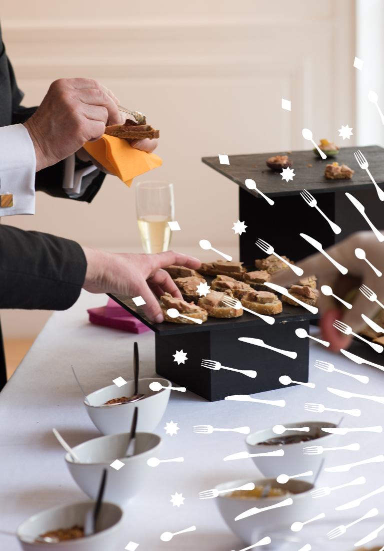 Agencele6.Rive Gauche Reception-Logotype-Identity-Versailles-Traiteur-e-commerce-design graphique-Packaging