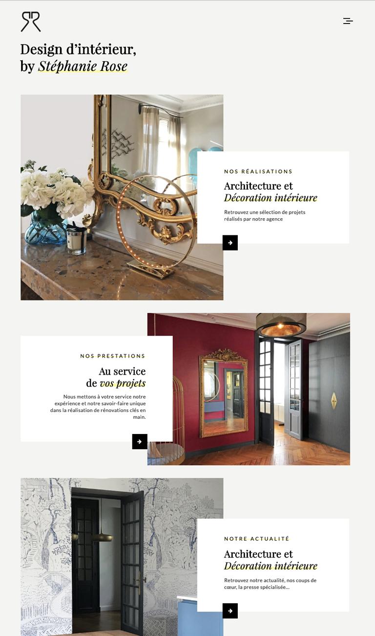 Agencele6.Design d interieur-Stephanie Rose-Web-Identite visuelle-design graphique