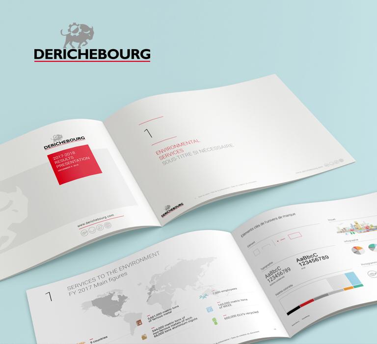 Agence Le6_Design Graphic_Paris_Derichebourg_Identite visuelle_Outils Corporate_Logo_Charte graphique
